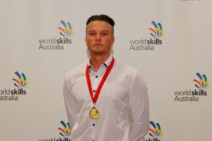 2017 Region Competition Bricklaying – Gold Medallist (Perth South) – Jacob Coppola