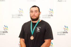2017 Region Competition Bricklaying – Bronze Medallist (Perth South) – Christopher McAdam