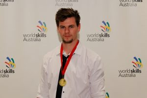 2017 Region Competition Wall & Floor Tiling – Gold Medallist (Perth South) – Nicholas Keating