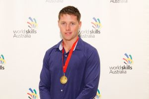 2017 Region Competition Bricklaying – Gold Medallist (South West) – Nikolas Foster