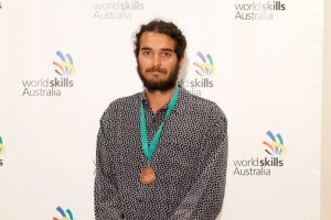 2017 Region Competition Bricklaying – Bronze Medallist (South West) – Sam Schaler