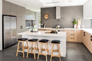 2016 Kitchen & Bathroom Awards Winner, Kitchen in a Display Home, The Maker Designer Kitchens $420,001 – $500,000, The Cambridge