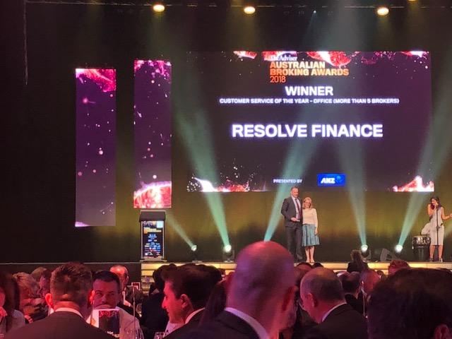 Resolve Finance wins national customer service award