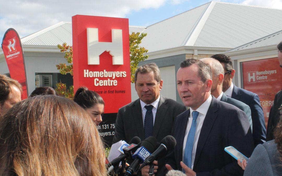 WA Home buyers to jump on State Government housing stimulus
