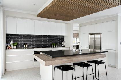 Kitchen in a Display Home $550,001-$650,000 'Avant' The Maker Designer Kitchens & Webb&Brown-Neaves