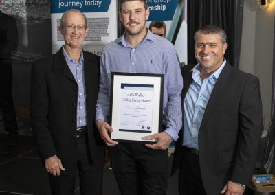 Cameron Jackovicich Ceiling Fixing award