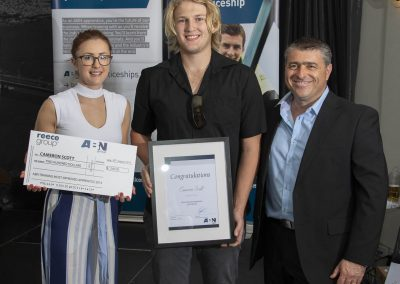 Cameron Scott Most Improved award