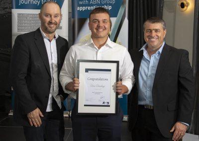 Duan Duvenhage Best 1st Year apprentice