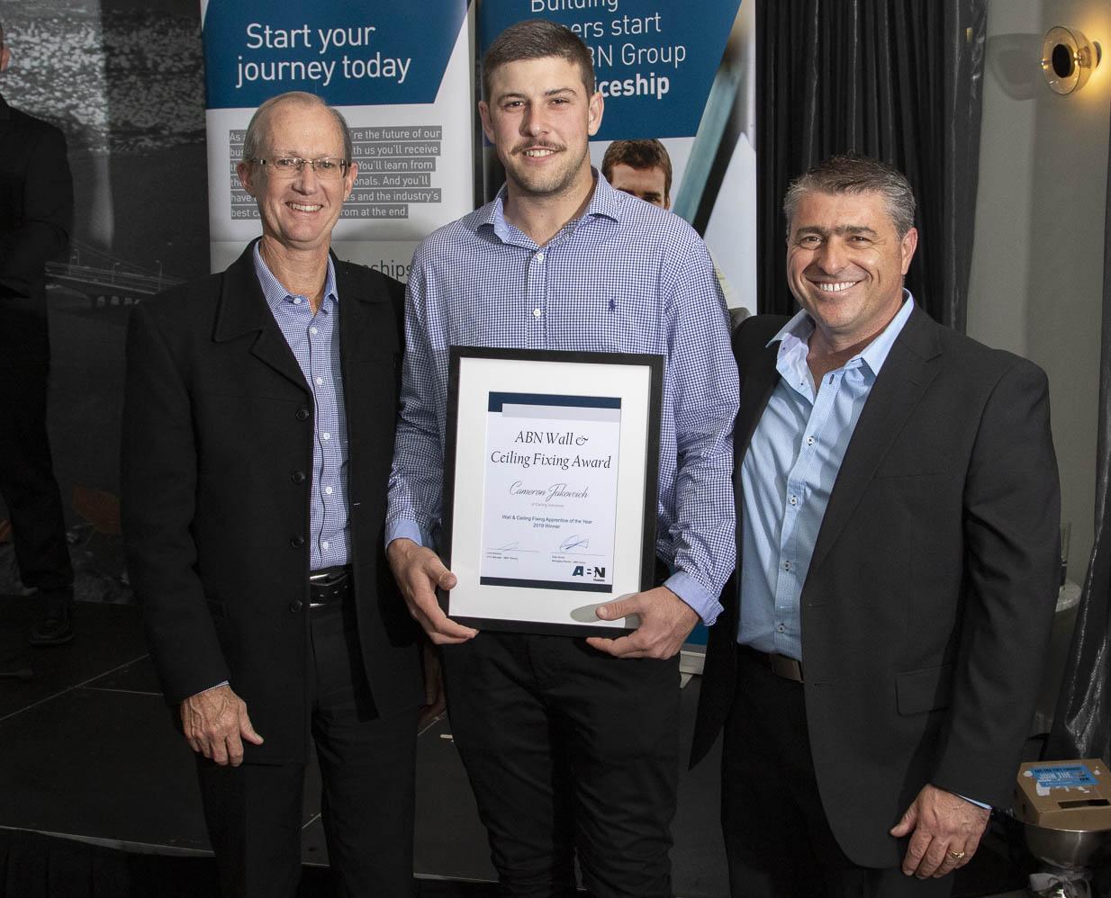 Cameron Scott, Plumber for Boeing Plumbing – 3rd year