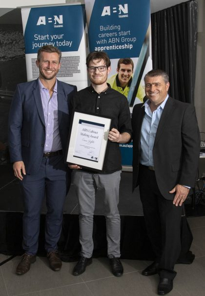 Trade Award, Connor Griffiths: Cabinet Maker for The Maker