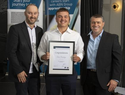 Best 1st Year Apprentice, Duan Duvenhage: Bricklayer HBC