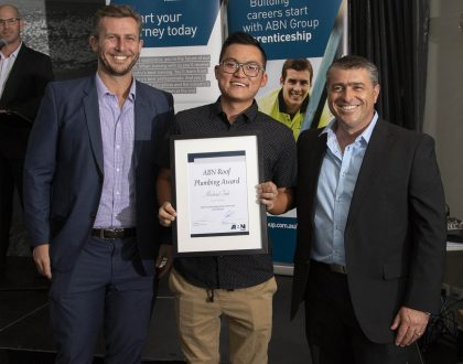 Michael Soh, Roof Plumber for Hi Point Roofing WA – 4th year